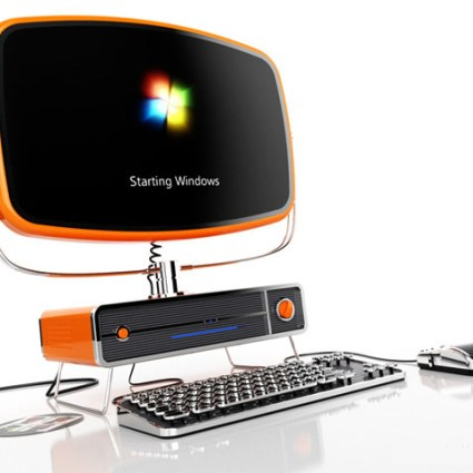 Philco PC, un PC au design rétro
