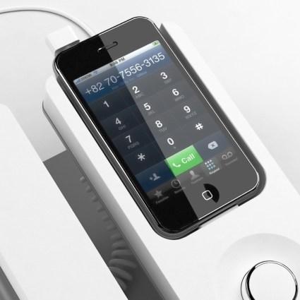 Transformer son iPhone en téléphone fixe