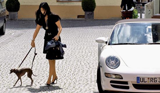Publicité de Porsche