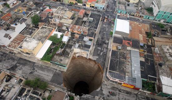 Les portes de l'Enfer sont ouvertes au Guatémala