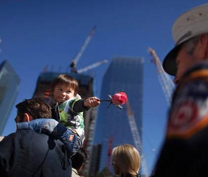 Commémoration du 9/11 : des photos émouvantes