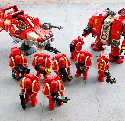 Space Marines en Lego