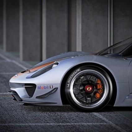 Porsche 918 RSR 2011
