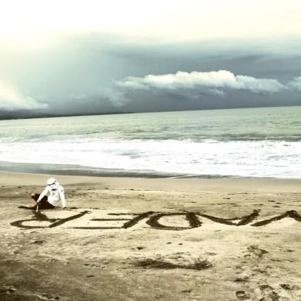 Surfing Stormtrooper