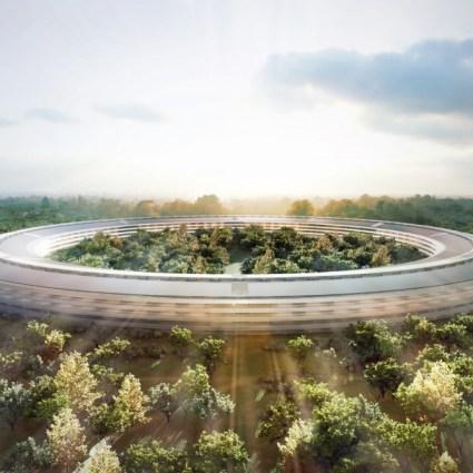 Le nouveau campus d'Apple par Norman Foster