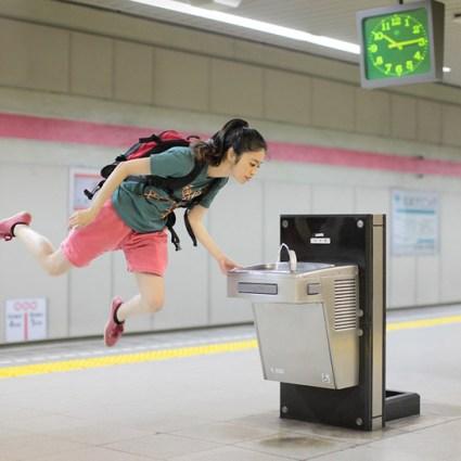 Levitation portraits de Hayashi Natsumi