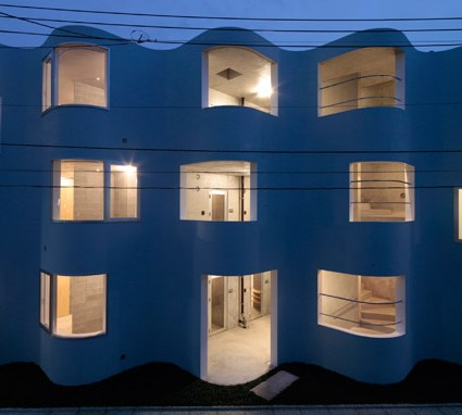 Architecture originale : SMG Apartments de Mejiro Studio