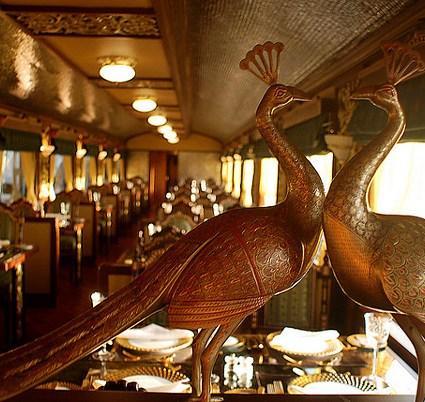 Maharajas' Express, le train de luxe en Inde
