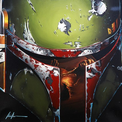 Peintures Star Wars par Christian Waggoner