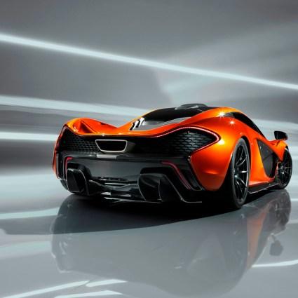 Les premières images de la McLaren P1