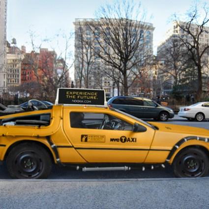 Taxi Nooka DeLorean concept