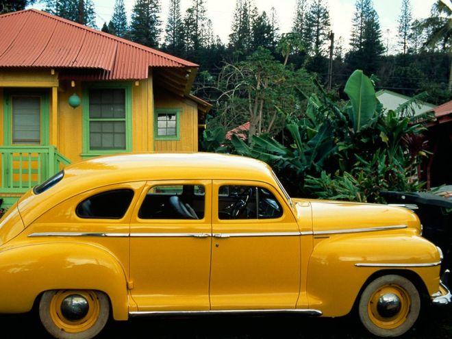 Vintage Plymouth by Jim Richardson