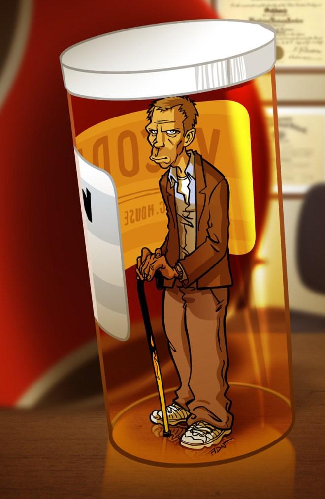 Dr House - Adrien Noterdaem