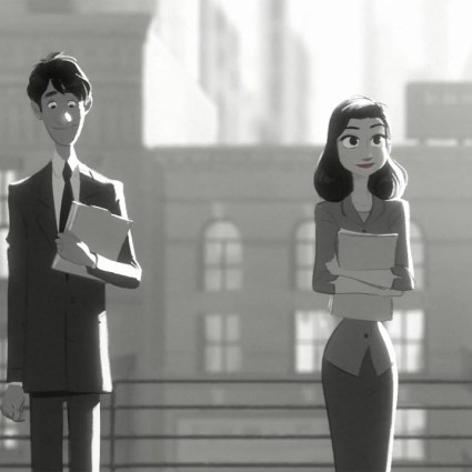 Paperman / Un excellent court métrage d'animation des Studios Disney