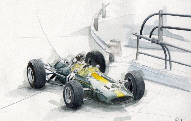 Lotus (Graham Hill -1967)