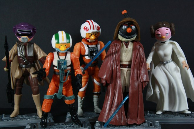 Angry Birds Star Wars Bodies