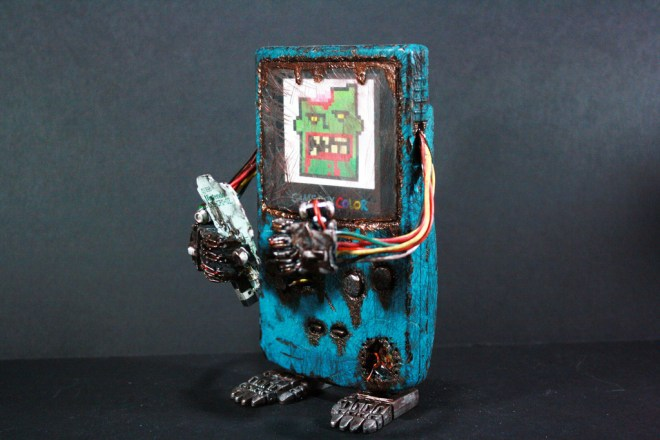 Kodykoala's Custom Zombie Gamboy Color