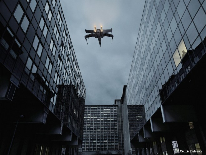 X-Wing & Vader, Lille & surrounding wastelands, 2007 - Dark Lens - Cédric Delsaux