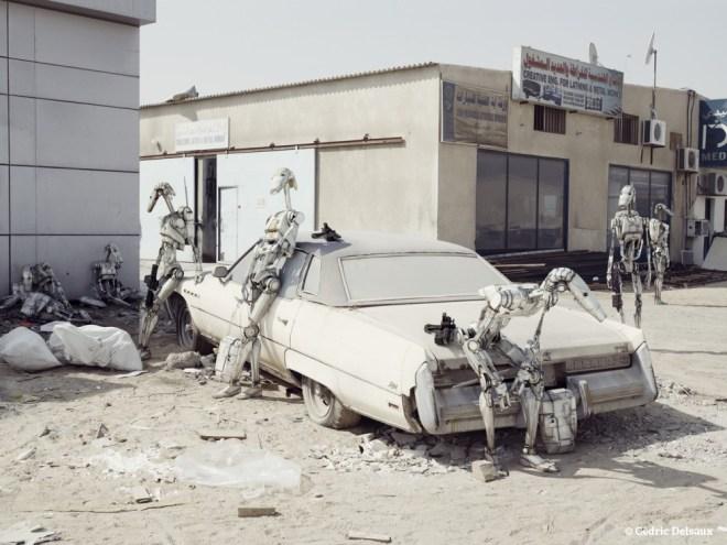 The Buick, Dubai, 2009 - Dark Lens - Cédric Delsaux