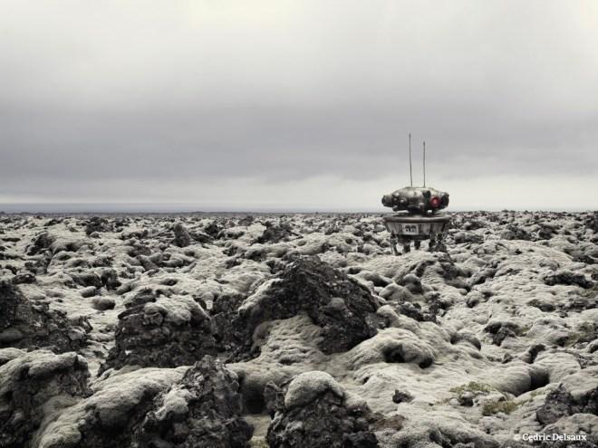 Probe Droid, Iceland, 2010 - Dark Lens - Cédric Delsaux