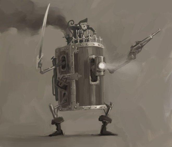 The Bootybot ©Jakob Eirich