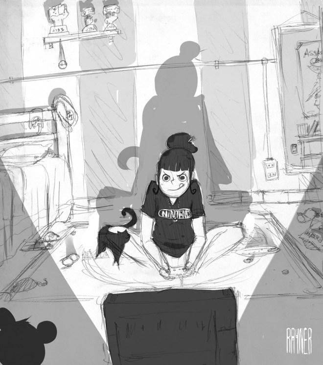 Gamer Girl by Rayner Alencar