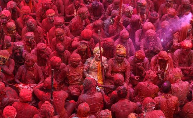 India Holi Festival 2013 92258315