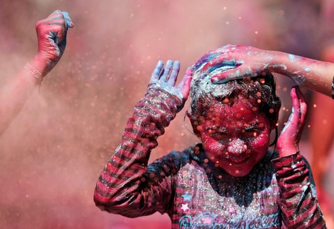 India Holi Festival 2013 98763631