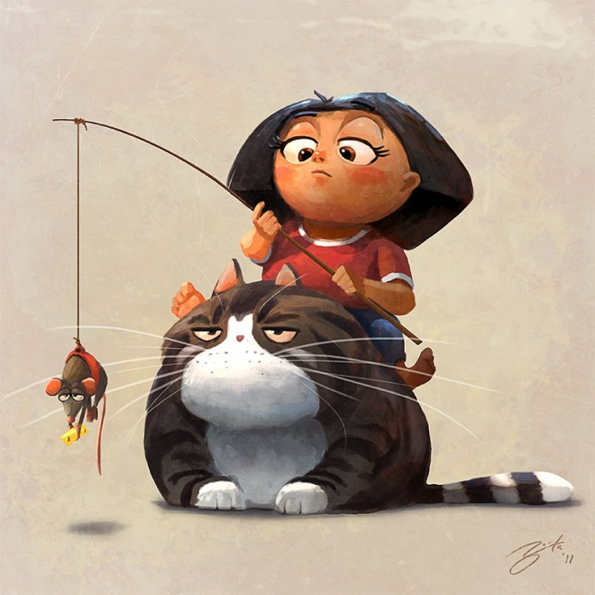 Obese Pet by Goro