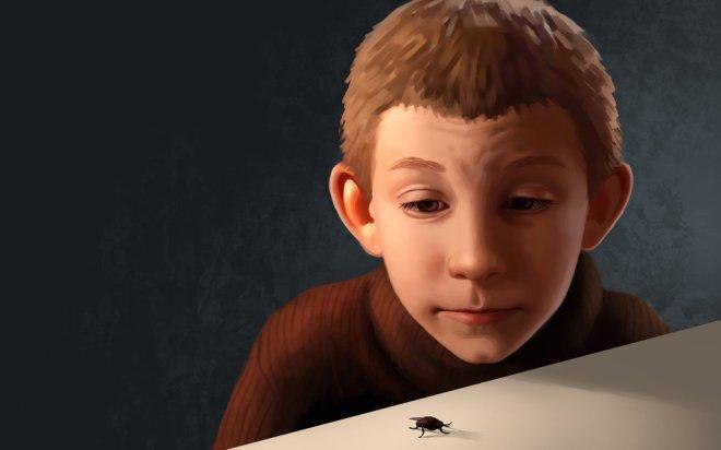 Dewey And The Fly by Daniela Uhlig