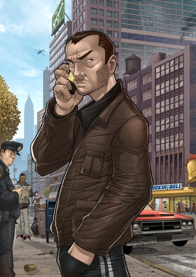 GTA : Niko Bellic - Patrick Brown
