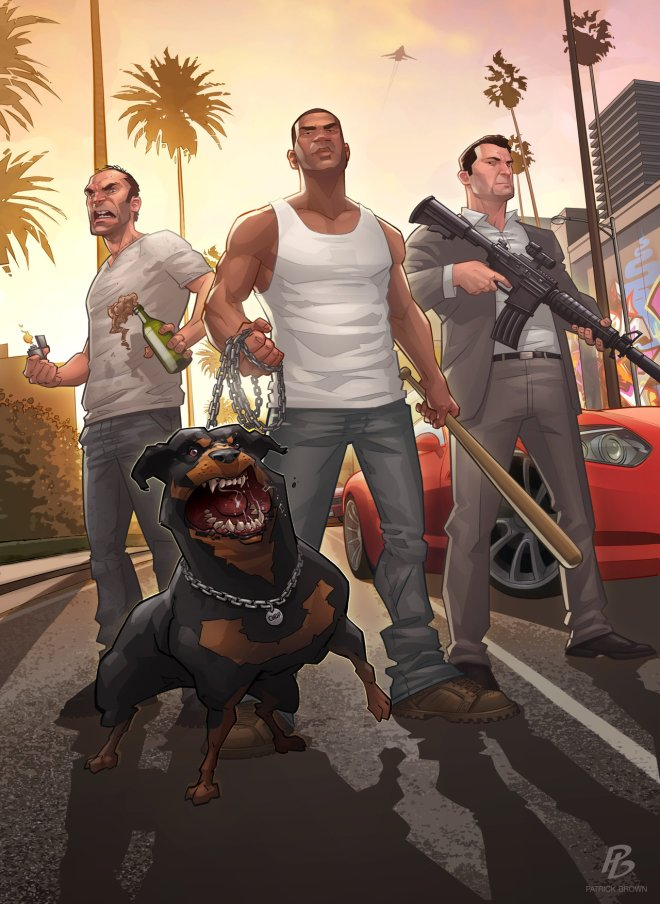 Grand Theft Auto V - The Stand Off - Patrick Brown