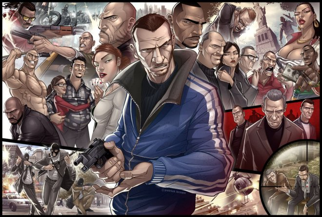 Grand Theft Auto IV Tribute - Patrick Brown