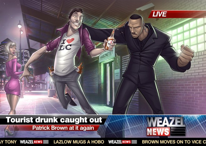 Grand Theft Auto - Patrick Brown