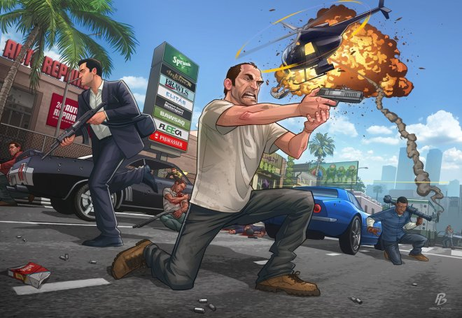 GTA V - Launch Pice - Patrick Brown