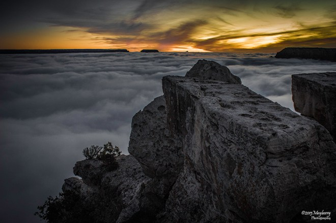 Clouds Inside the Grand Canyon 51382529