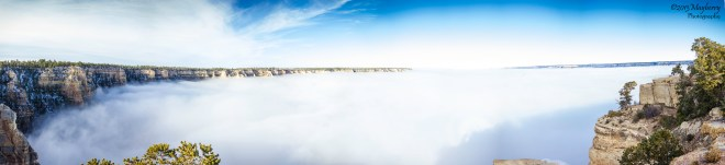 Clouds Inside the Grand Canyon 80426687