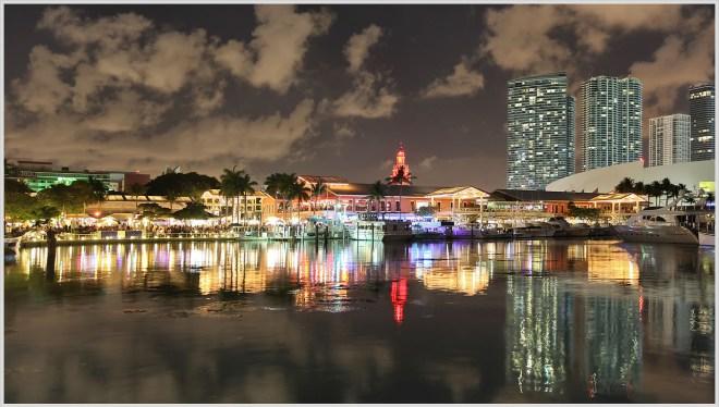 Miami Waterfront, Saturday Night - Greg Ness