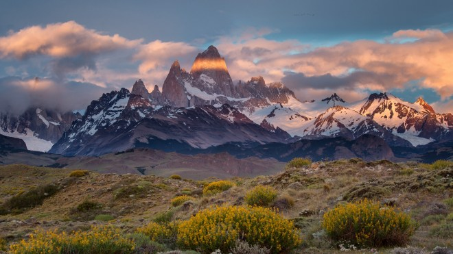 Monte Fitz Roy Sunrise - Greg Ness