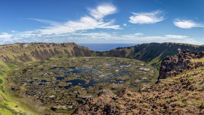 Rano Kau on Easter Island - Greg Ness