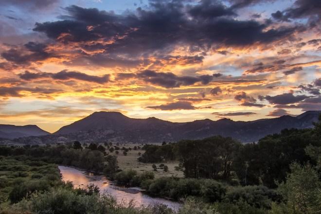 Sunrise On The Arkansas River Valley - Greg Ness