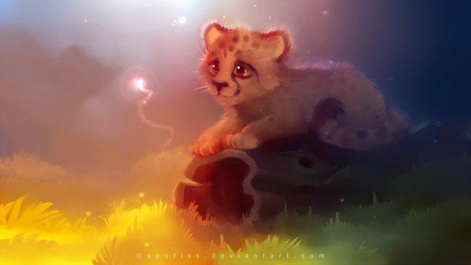 Cheetah by Rihards Donskis aka Apofiss