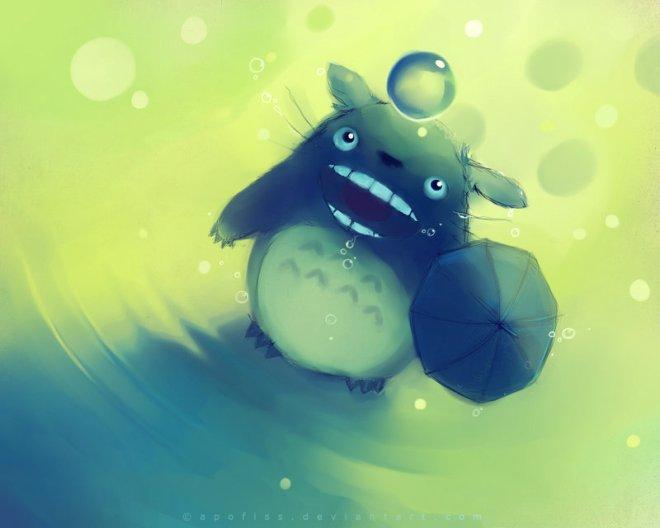 Totoro No Rain by Rihards Donskis aka Apofiss