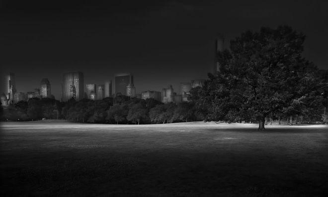 Sheep Meadow Sunrise - Central Park / Michael Massaia
