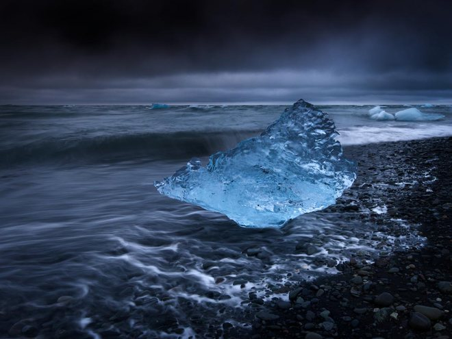 Blue Ice, Jokulsarlon ©Jerome Berbigier