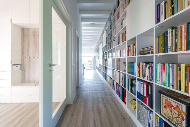 Long Brick House by Földes & Co. Architects
