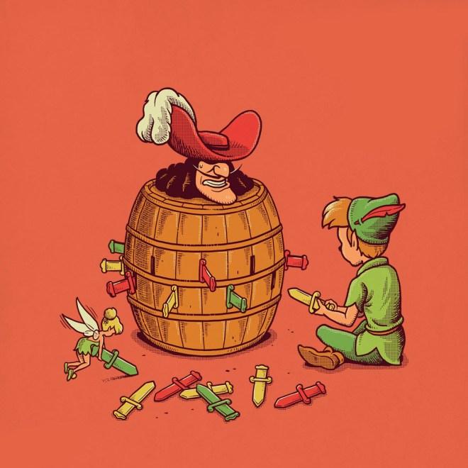 Pirate Barrel Game