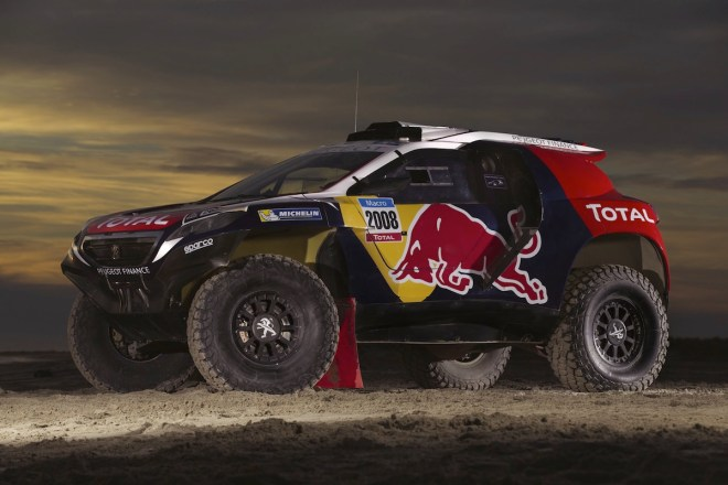 The Peugeot 2008 DKR - Detail