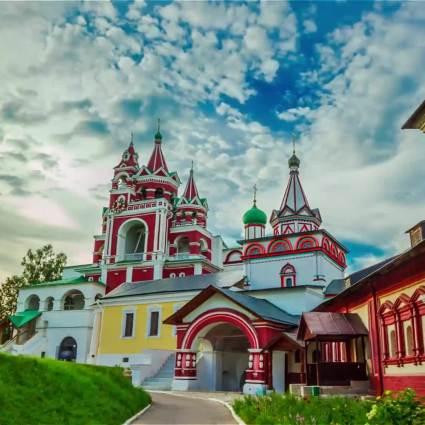 My Moscow Timelapse by Sergey Tatarinov