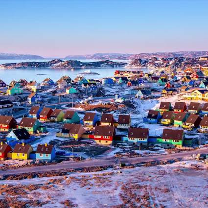 Time-lapse : Two Lands, Greenland & Iceland